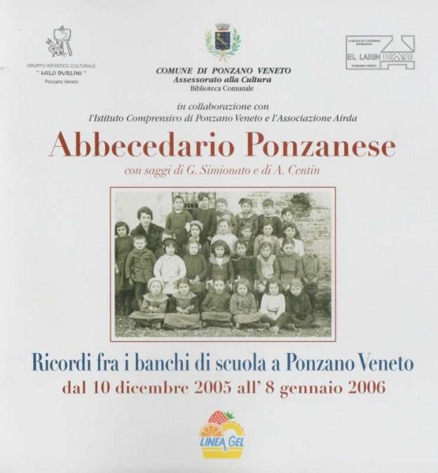 Copertina Abbecedaraio Ponzanese